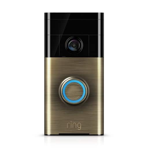 Ring Wi-Fi Enabled Video Doorbell $94.99 After Coupon w/ Pledge + Free Shipping