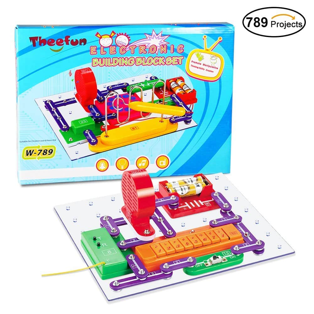 Theefun Smart Educational Electronics Discovery Kit (Cretes 789 DIY Projects) $14.99 AC + Free Shipping