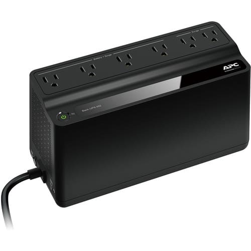 6-Outlet APC Back-UPS BN450M Battery Backup for $32.99 AC Shipped