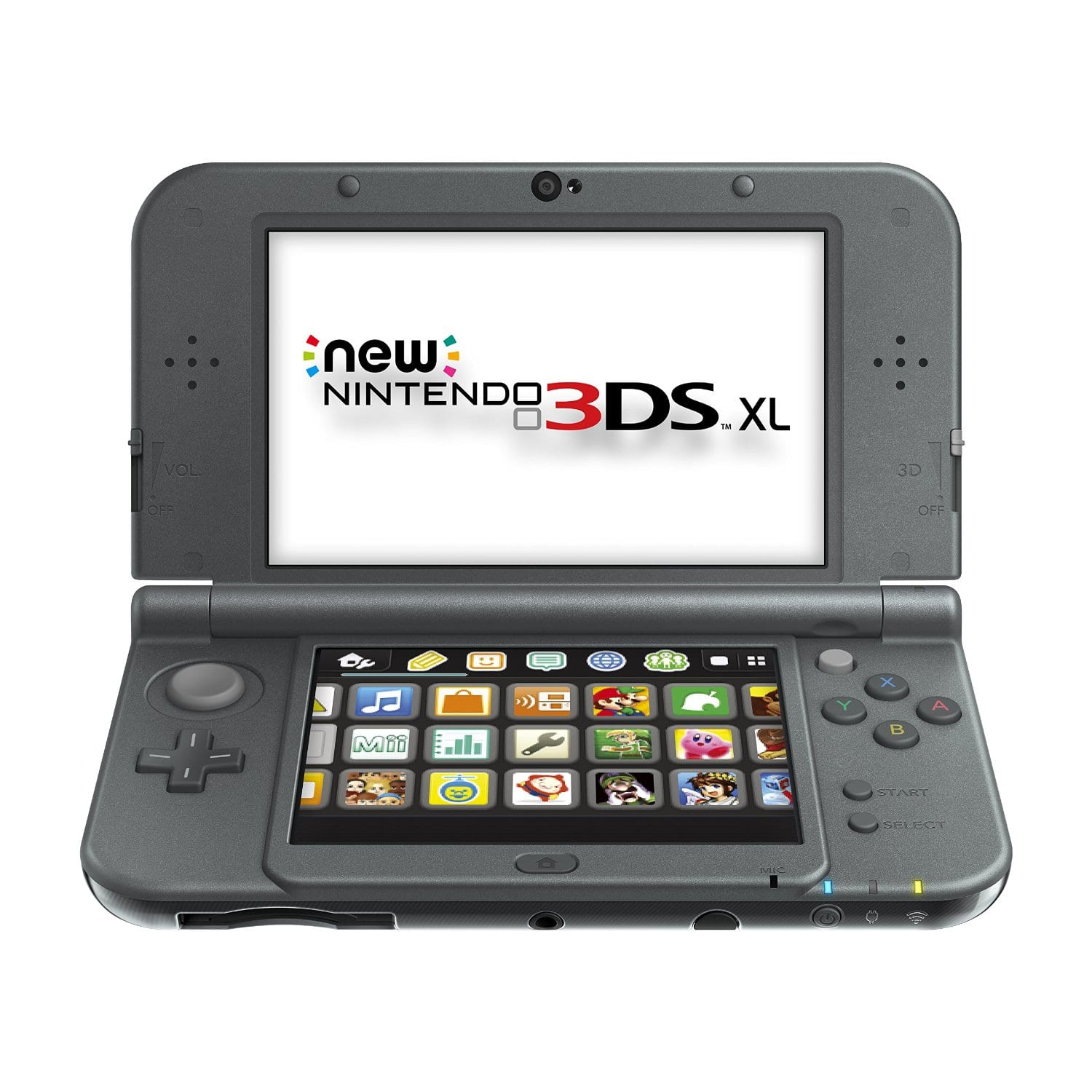 New Nintendo 3DS XL Black Console for $157.20 Shipped