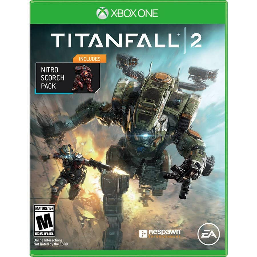 Xbox One Titanfall 2 with Bonus Nitro Scorch Pack DLC Brand New Sealed for $7.60 AC Shipped