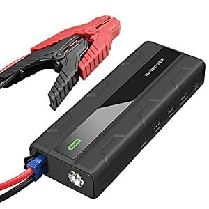 RAVPower 1000A Peak Current 14000mAh Car Jump Starter with Quick Charge 3.0 for $49.99 + FSSS