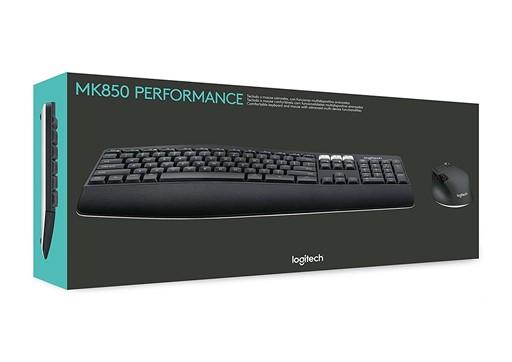 Logitech MK850 Performance Wireless Keyboard and Mouse Combo $59.99 AC w/ Pledge + Free Shipping