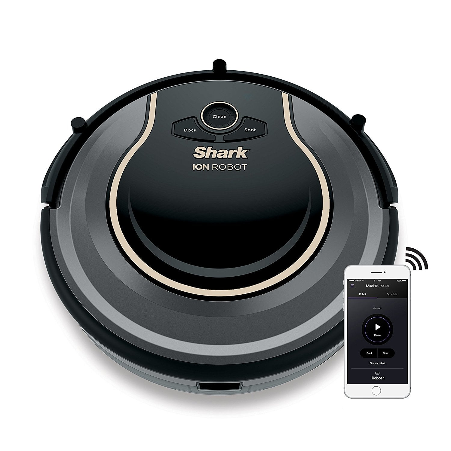 Shark ION ROBOT 750 Vacuum with Wi-Fi Connectivity + Voice Control, Works with Alexa RV750 for $259.20 AC Shipped