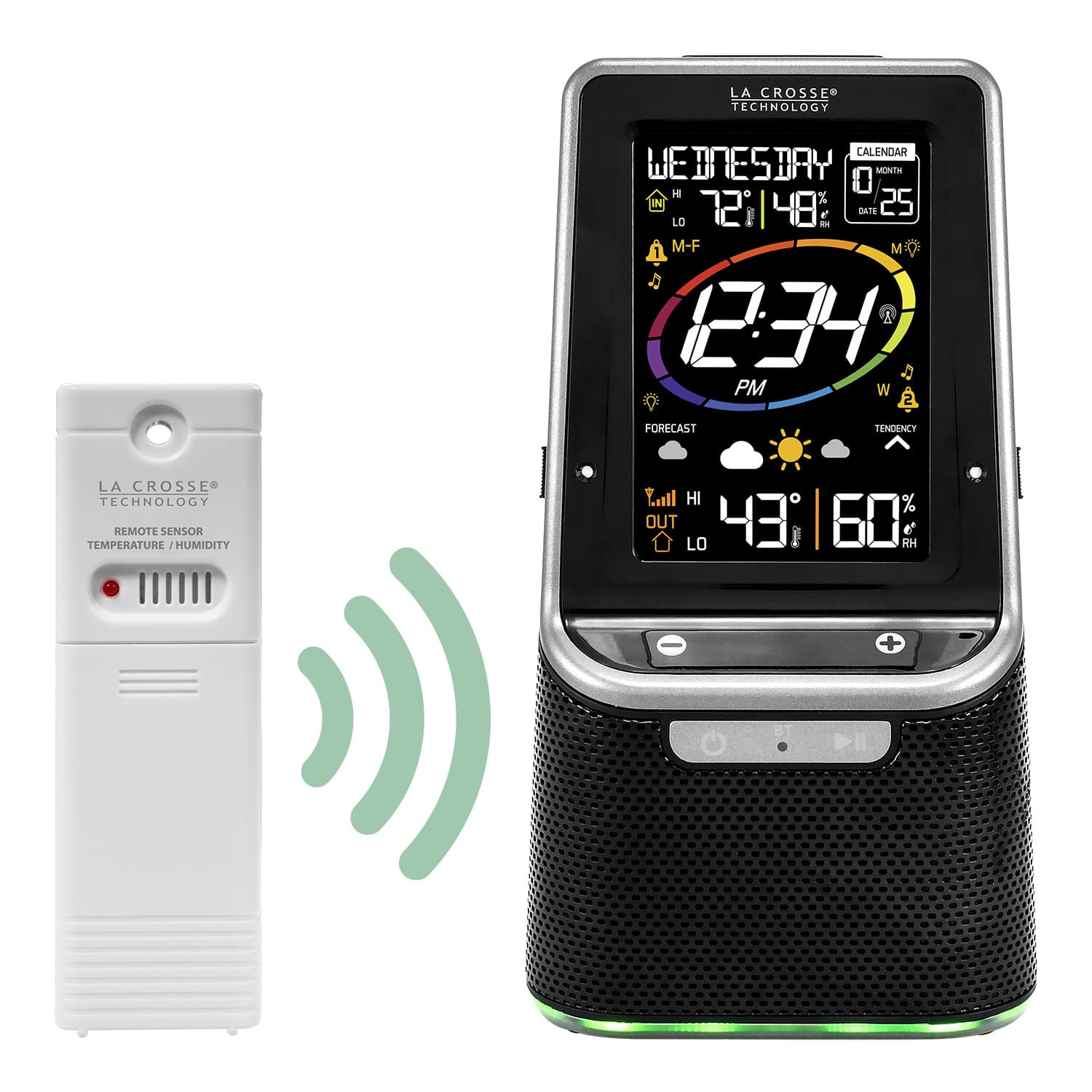 La Crosse Technology - S86842 - Wireless Weather Station with Bluetooth Speaker - $29.95 + Free Shipping