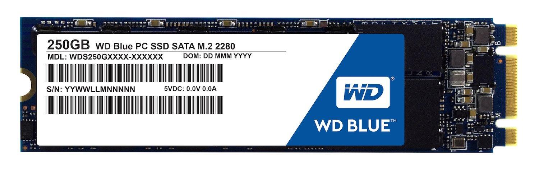 WD Blue M.2 250GB Internal SSD Solid State Drive $70 + FS