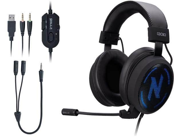 Rosewill NEBULA GX30 Gaming Headset with Microphone for PC / PS4 / Mac & RGB Backlight - $27.99 AC + Free Shipping