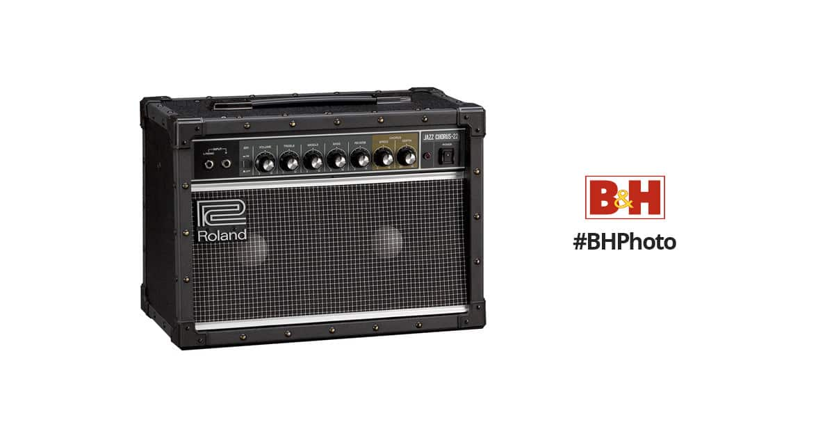 Roland JC-22 Jazz Chorus 30W 2x6.5 Guitar Amplifier $299 + Free Shipping