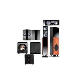Polk Audio LSi15 Home Theater System: 2x Polk LSi 15 Speaker Towers + 2x Polk LSi Fx Surround Speakers, + 1x Polk LSi Center Channel Speaker + Free Bic PL-200 Sub $1639