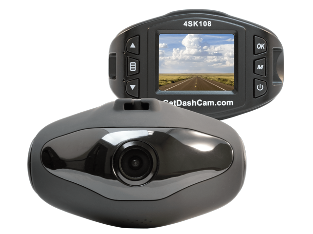 The Original Dash Cam Cyclops 4SK108 1080P HD Dash Cam with 1.5 inch LCD Monitor, G-Sensor, and 8GB mircoSD Card $15 + FS
