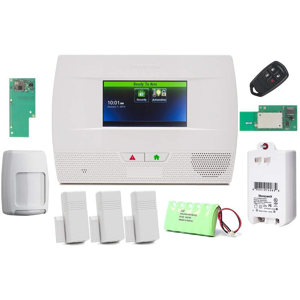 Honeywell L52KT2 Smart Security System Kit $269.99 AC + Free Shipping