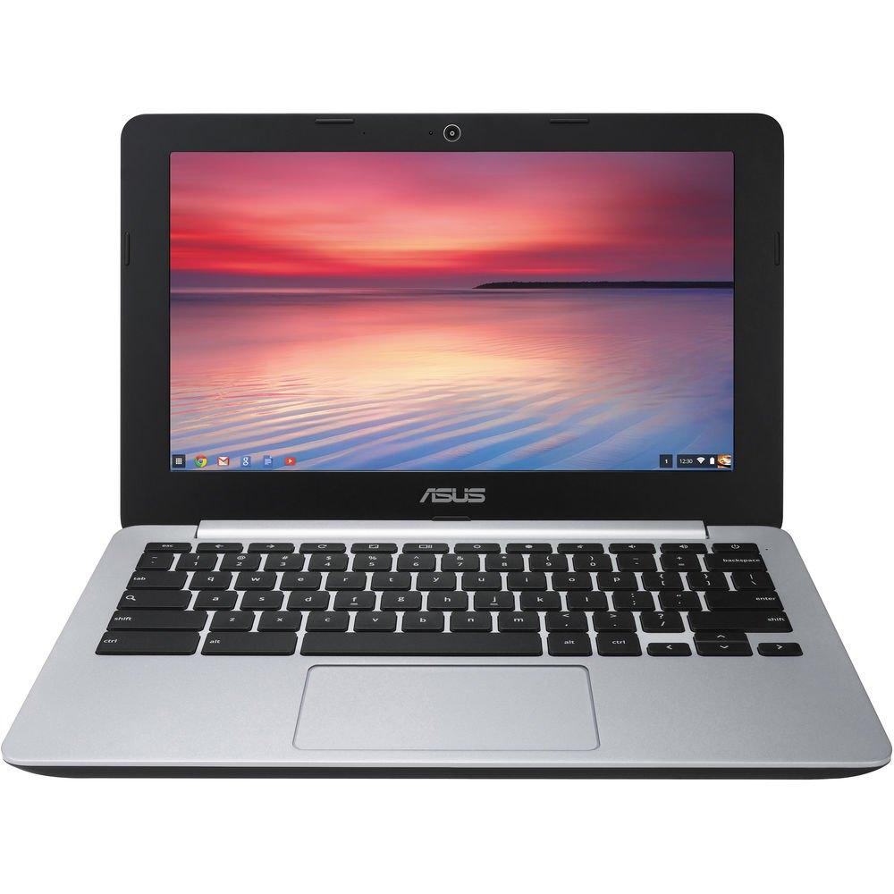 "ASUS C200MA-DS01 11.6"" LED Chromebook Intel Celeron N2830 2.16GHz 2GB 16GB SSD (refurb) for $76.45 + Free Shipping"
