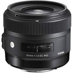 Sigma Art Camera Lenses: 30mm f/1.4 Art DC HSM $449 & More + Free Shipping