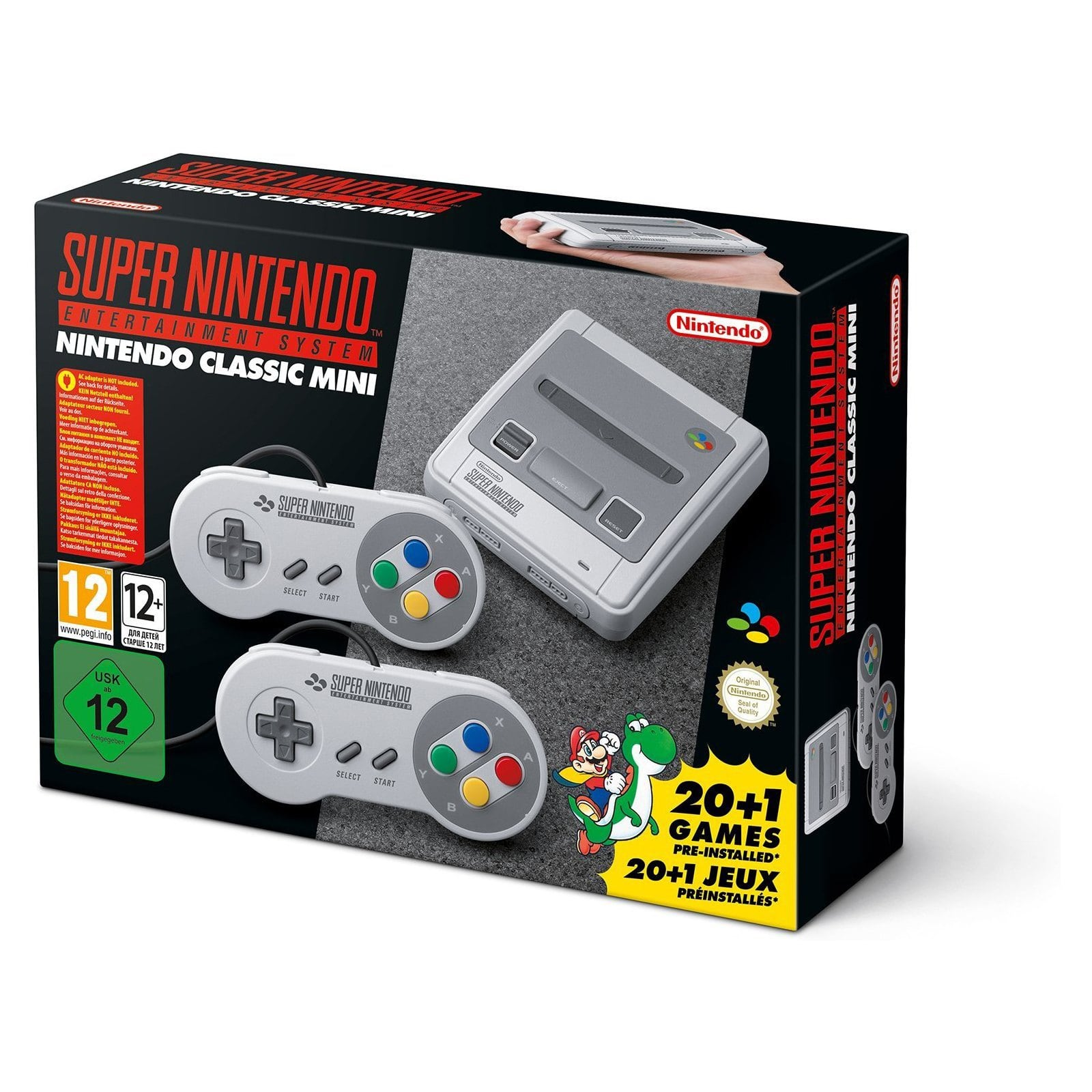 SNES Nintendo Classic Mini: Super Nintendo Entertainment System (region free) for $80.70 AC Shipped