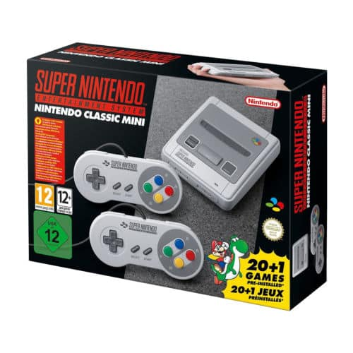 SNES Nintendo Classic Mini Super Nintendo Entertainment System EU Famicon Version $71.96 or or w/ 6ft. Extension Cable $76.40 + Free Shipping