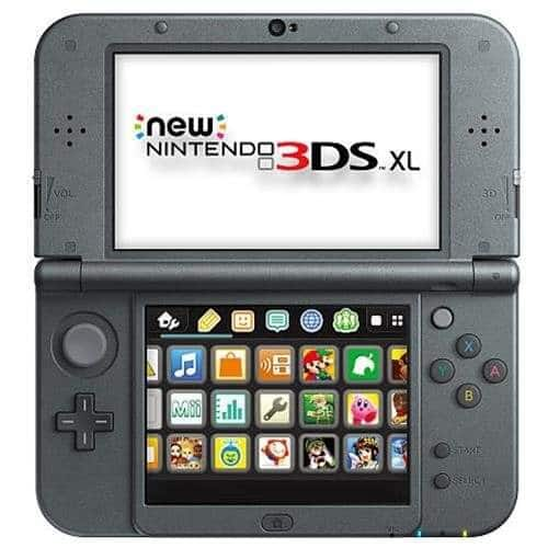Nintendo New 3DS XL Handheld Video Game Console System Black $151.96 + Free Shipping