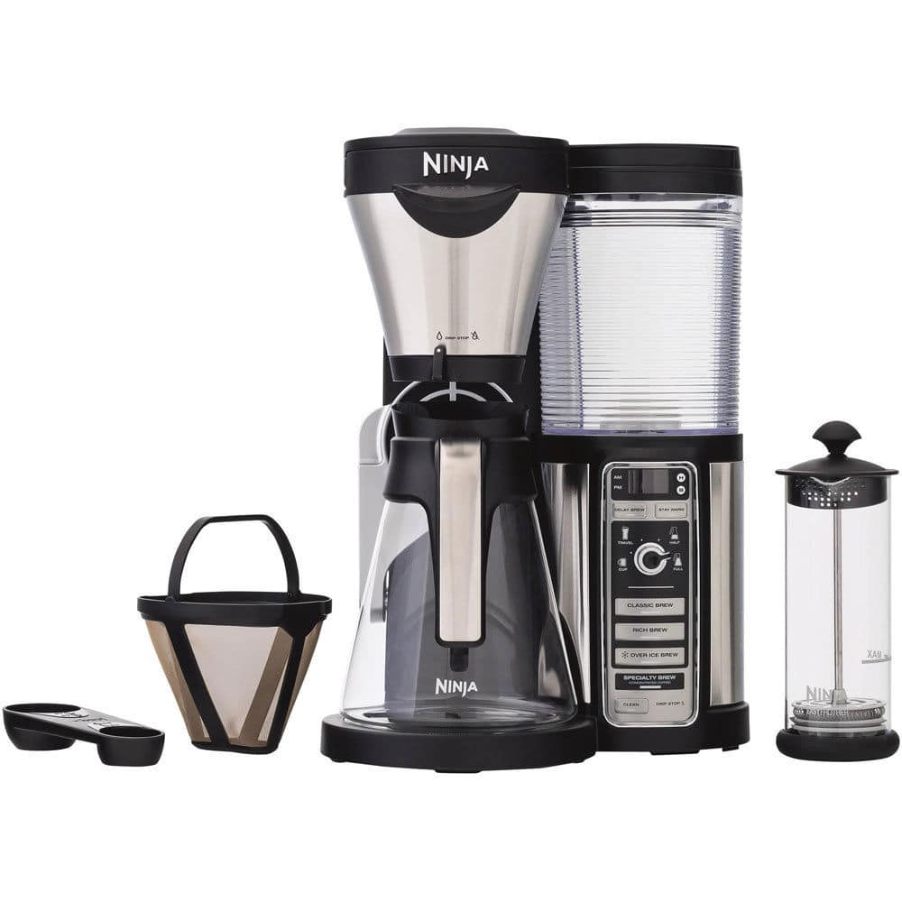 Ninja CF081 Coffee Bar Brewer with Glass Carafe and Reusable Filter for $82.40 + Free Shipping