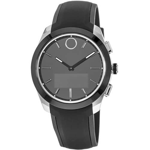 MOVADO Bold Connected II 44mm Smartwatch (Black, Black Silicone Band) $265 + FS