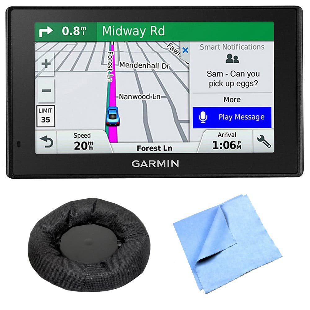 Garmin DriveSmart 51 NA LMT-S Advanced Navigation Smart Features Mounting Bundle $126.39 Shipped
