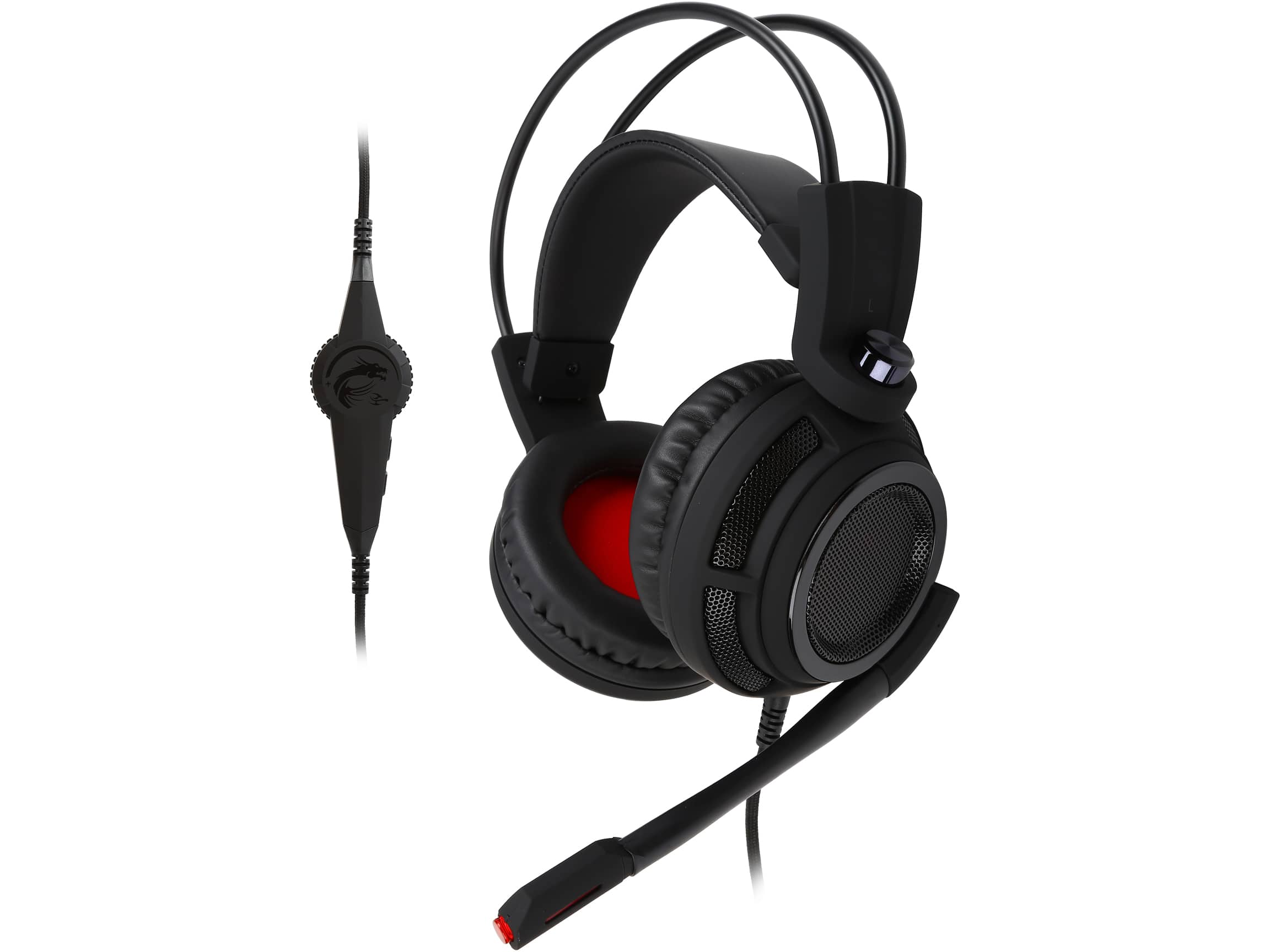MSI DS502 USB Connector Circumaural Gaming Headset $20 + FS