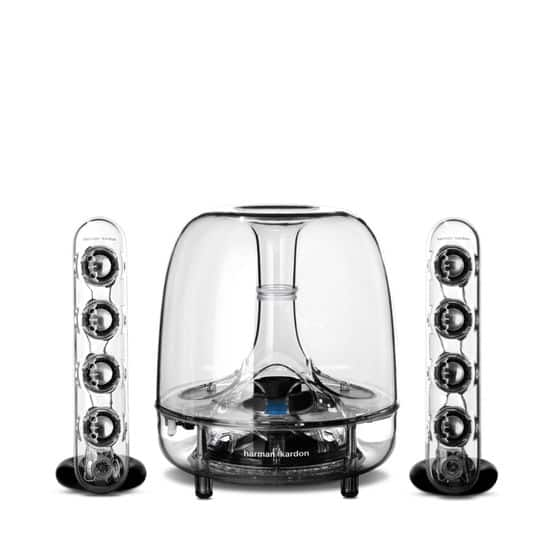 Harman Kardon Soundsticks Wireless Bluetooth Multimedia 2.1 Channel System Refurbished $149.99 + Free Shipping