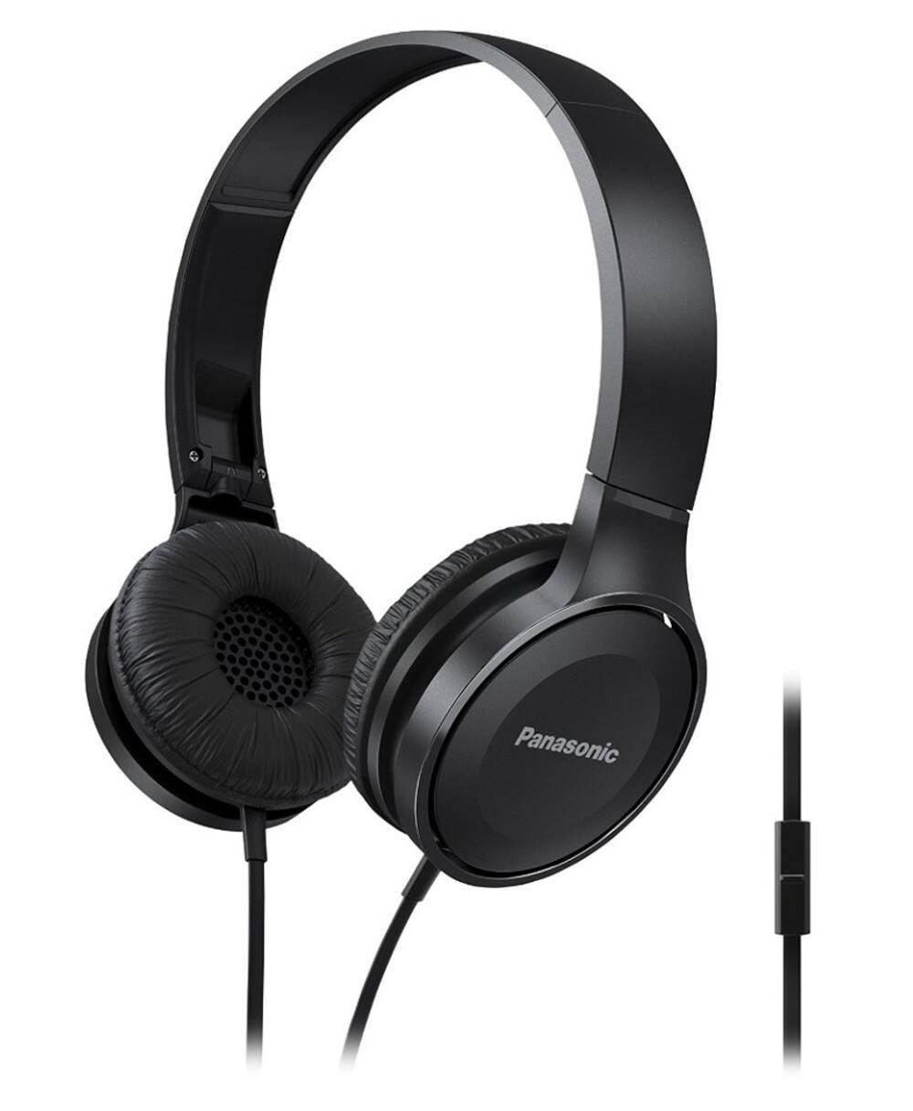 Panasonic On-Ear Stereo Headphones with Mic and Controller $9.99 Shipped