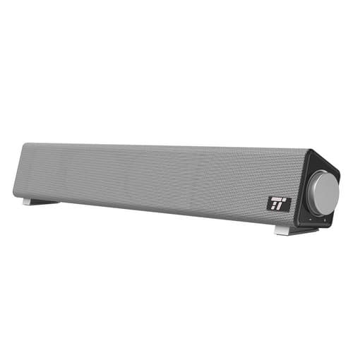 TaoTronics Wired Computer Speakers Portable Soundbar for $29.98 + FSSS