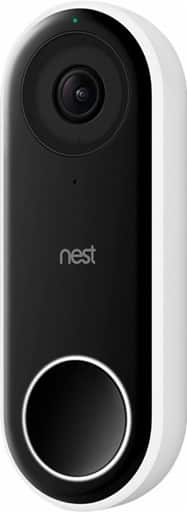 Nest Hello Smart Wi-Fi Video Doorbell $169.99 AC w/ Pledge + Free Shipping