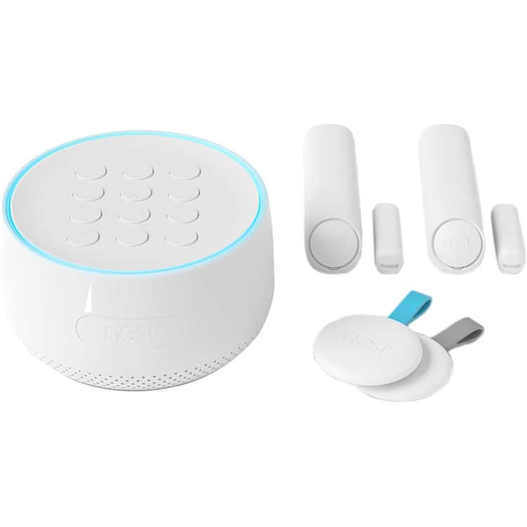 Nest Secure Alarm System Starter Pack with Detect Sensors and Keypad H1500ES for $349 AC + Free Shipping