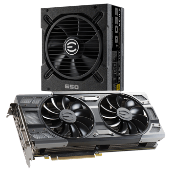 EVGA GeForce GTX 1080 GAMING, ACX 3.0 & LED + Free EVGA SuperNOVA 650 G1 w/ 12-Yr Warranty Power Supply & More $569.99 + Free Shipping
