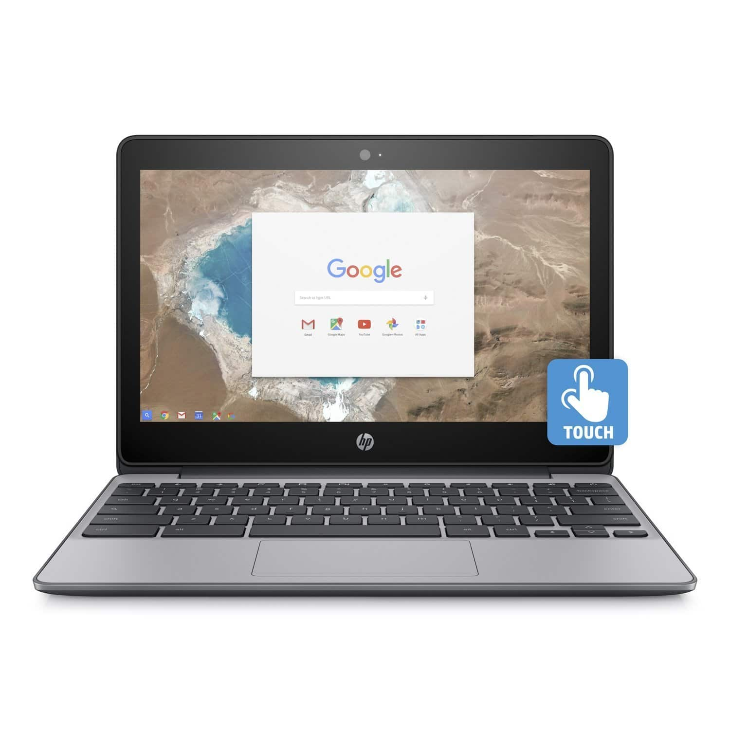 "HP 11-V025WM 11.6"" Touchscreen 16GB Chromebook, N3060 1.6GHZ 4GB WiFi (Refurbished) for $134.95 + Free Shipping"