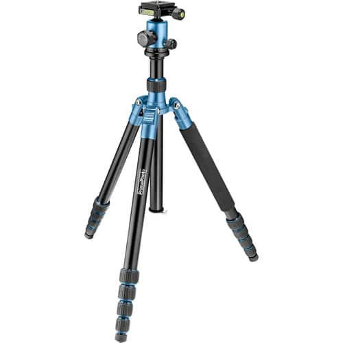 "54"" Prima Photo Big Travel Tripod (Blue) for $60, 50"" Prima Photo Small Travel Tripod (Silver) for $50 + Free Shipping"