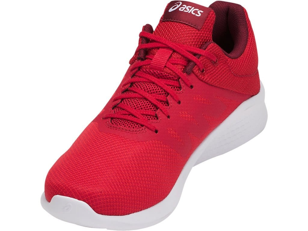 14bd18857851 ASICS Comutora Men s Running Shoes (Red) - Slickdeals.net