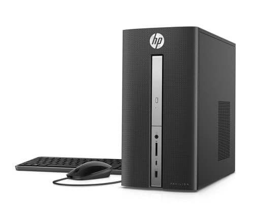 HP Pavilion 570-p054 Desktop PC Core i3-7100 3.90GHz 4GB RAM 1TB HDD WIN10 Refurbished $179.99 + Free Shipping (eBay Daily Deal)
