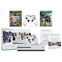 1TB Xbox One S Console + GTA V + Titanfall 2 + Extra Controller & More $293.20 + Free Shipping (eBay Daily Deal)