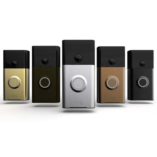 Ring Wi-Fi Enabled Video Doorbell Motion Activated Camera and Two Way Audio $84.95 A + Free Shipping
