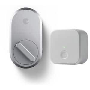 August Smart Lock 3rd Gen + Connect Wi-Fi Bridge for Smart Home Remote Access $159.80 AC + Free Shipping