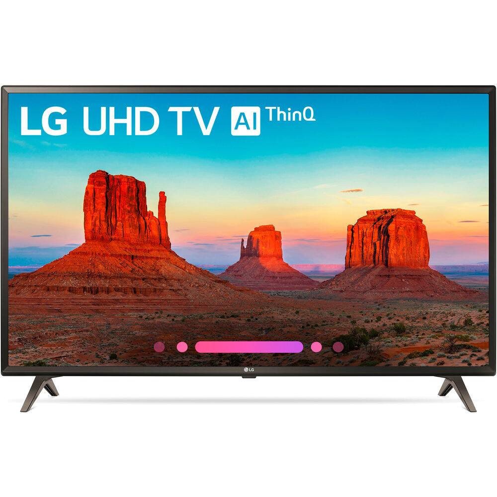 "LG 49UK6300PUE 49"" Class 4K HDR Smart LED AI UHD TV w/ThinQ (2018 Model) $389.99 + Free Shipping (eBay Daily Deal)"