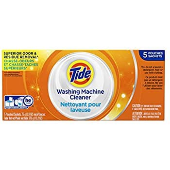 5-Count Tide Washing Machine Cleaner for $7.42 AC or Less w/ S&S + Free S&H