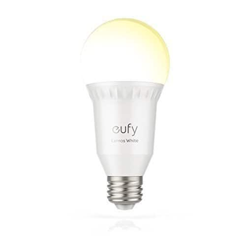 eufy lumos smart bulb soft white 9w work with alexa and google assistant fs. Black Bedroom Furniture Sets. Home Design Ideas
