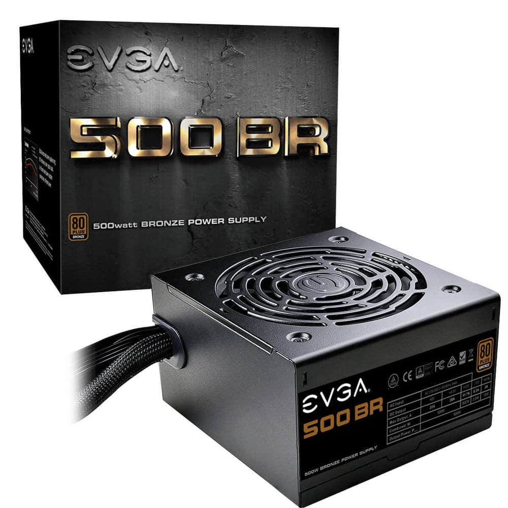 EVGA 500 BR 80+ BRONZE 500W PSU with 3 Year Warranty for $29.99 + Free Shipping