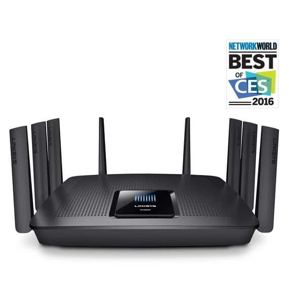 Linksys AC5400 Tri Band Wireless Router (Max Steam EA9500) - Manufacturer Refurbished - $209.99 + Free Shipping