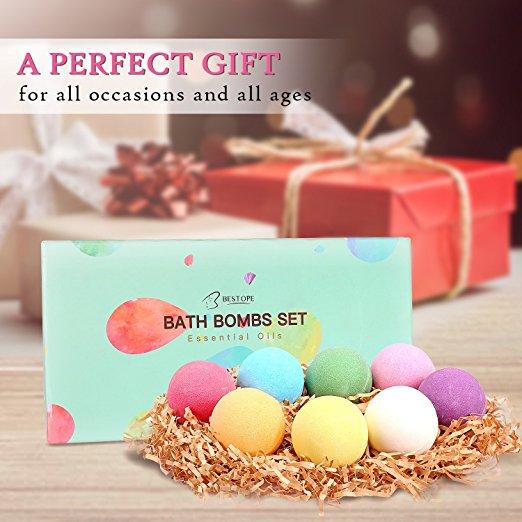 8-Piece BESTOPE Bath Bombs Gift Set for $5.99 AC + FSSS