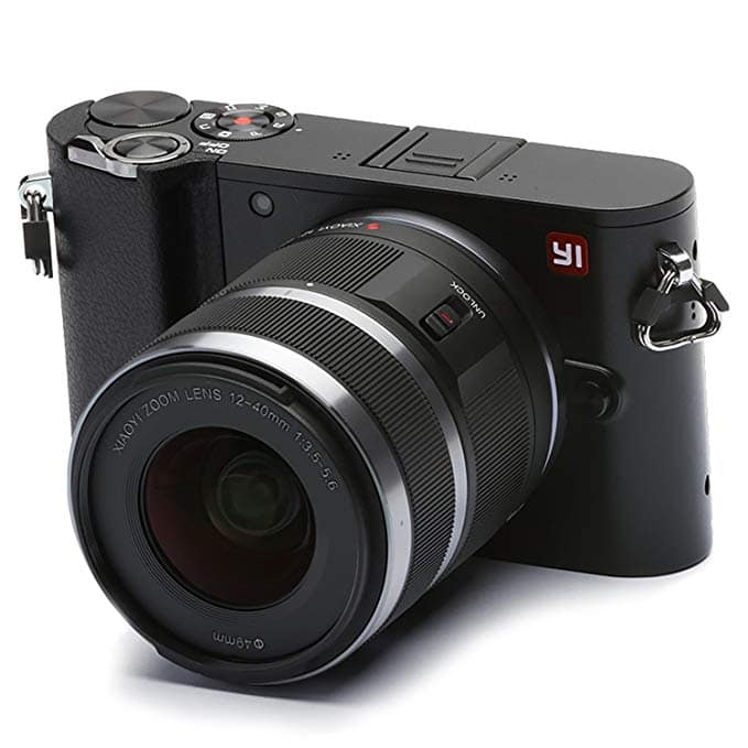 YI M1 4K 20 MP Mirrorless Digital Camera w/ Interchangeable Lens 12-40mm F3.5-5.6 Lens/42.5mm F1.8 for $480, YI 4K Video 20 MP Mirrorless Digital Camera for $280 & More + FS