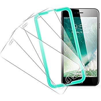 3-Pack Tempered Glass Screen Protector, for iPhone 8 Plus/7 Plus/6s Plus/6 Plus $3.46 AC + FSSS