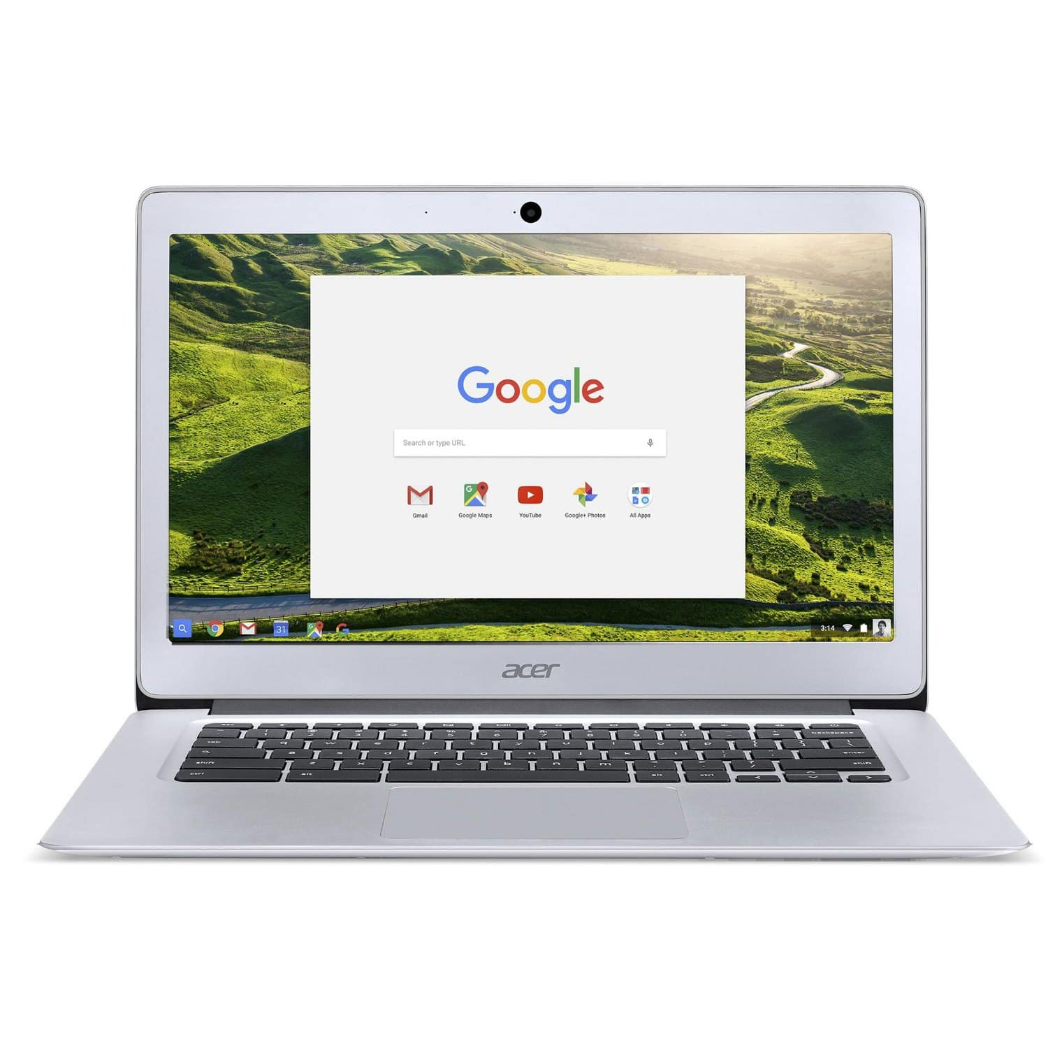 "Acer Chromebook 14"" Full HD Intel Celeron 1.6GHz 4GB RAM 32GB CB3-431-C5FM [Certified Refurbished] for $169.99 + Free Shipping"