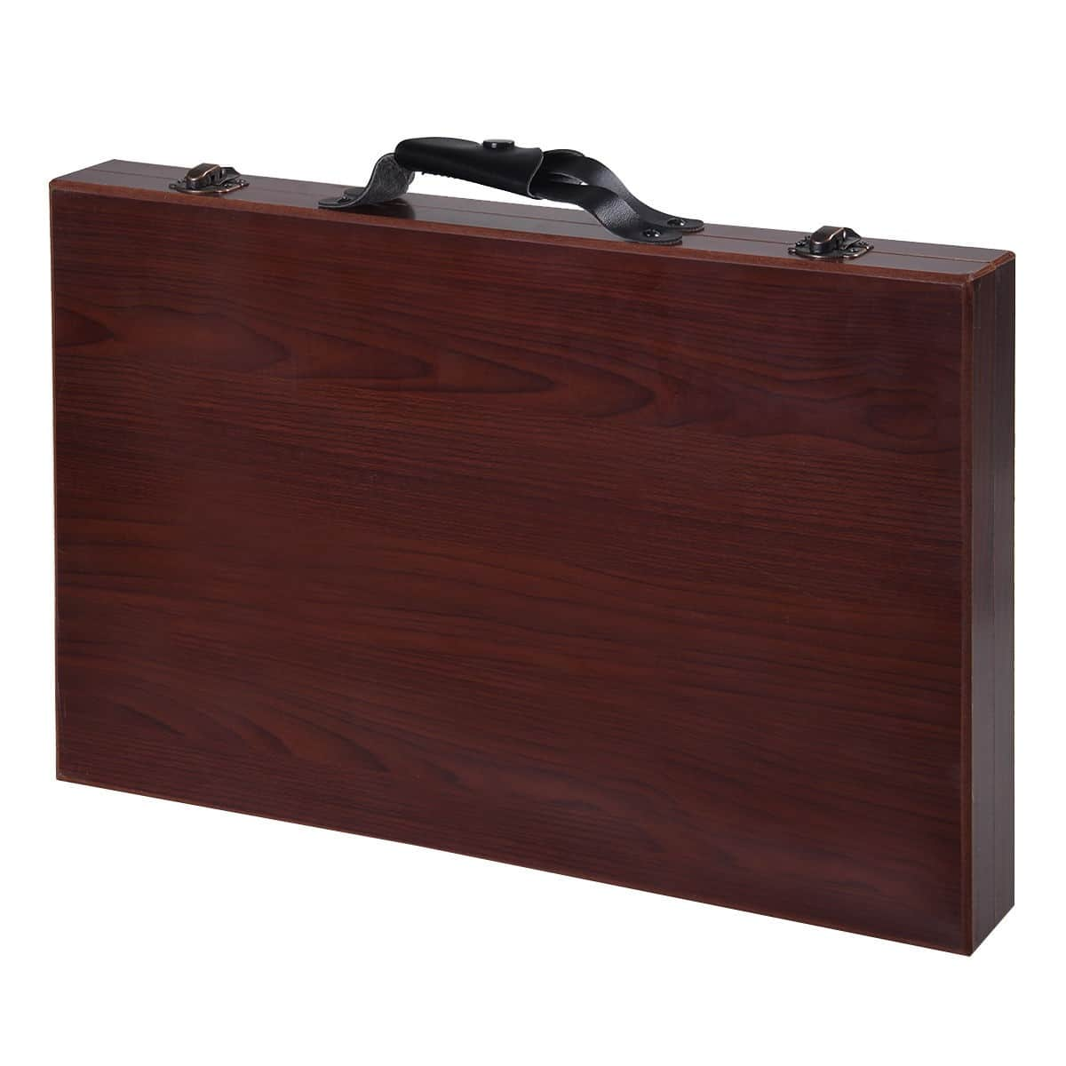 Costway 80-Piece Art Set Drawing Accessories with Wood Case - $15.95 + Free Shipping