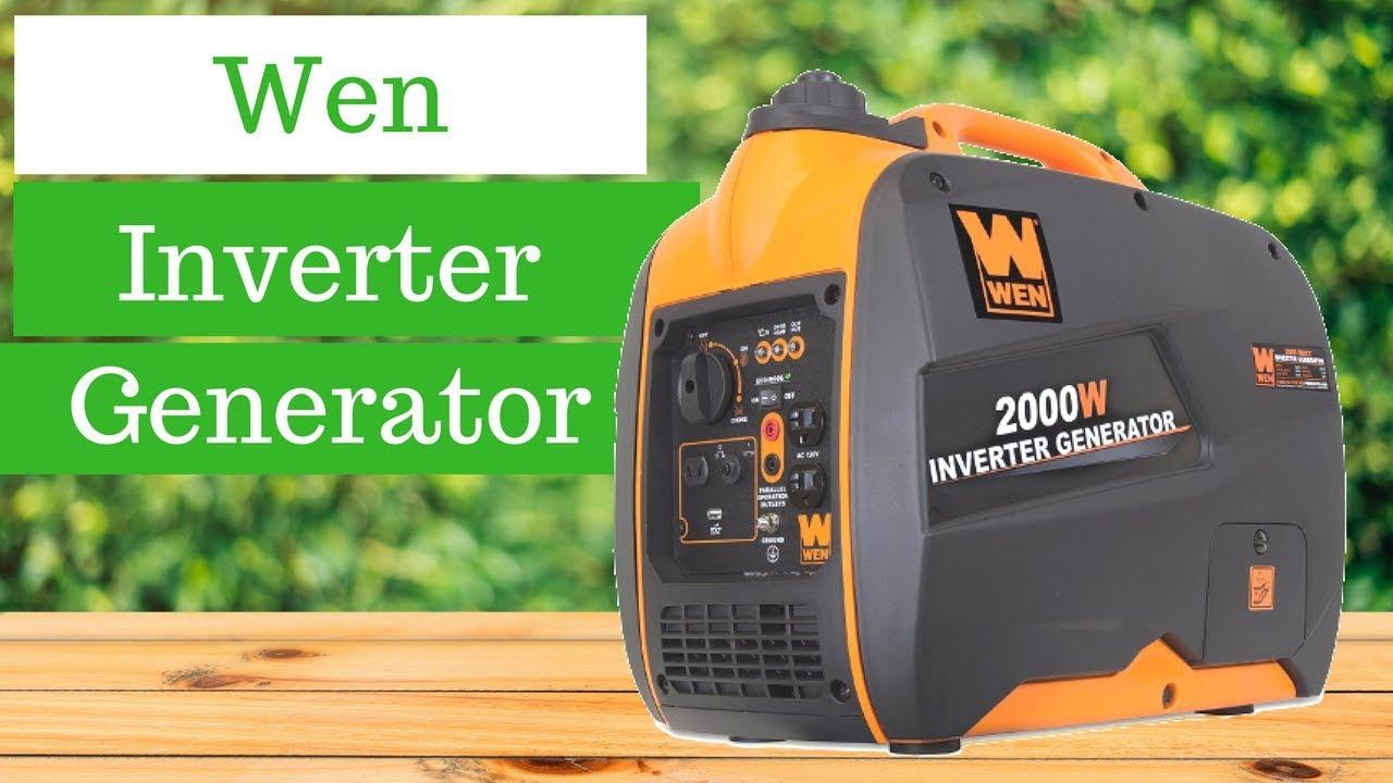 WEN 56200i 2000-Watt 4-Stroke Gas Powered Portable Inverter Generator - $384.99 + Free Shipping w/ Prime