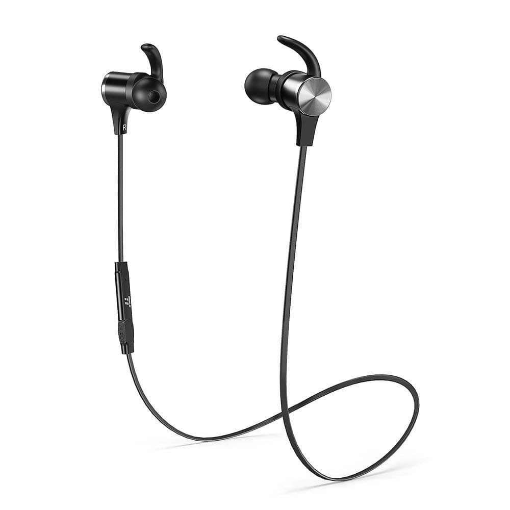 TaoTronics Wireless 4.2 Magnetic Earbuds Sports Earphones TT-BH07 (Certified Refurbished) $5.99 + FSSS