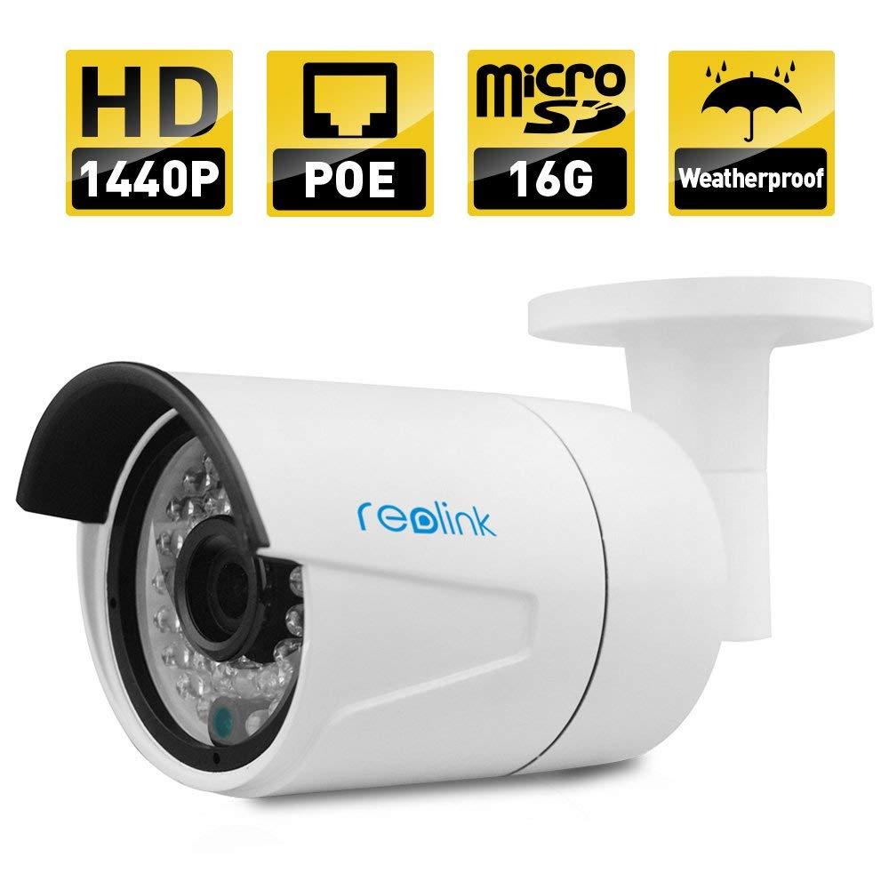 Reolink 4MP Super HD PoE Camera w/SD Card Indoor Video Surveillance $63.70 + FSSS